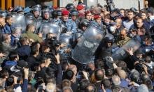 """أرمينيا: احتجاجات واسعة ضد """"الاتفاق المهين"""" مع أذربيجان"""