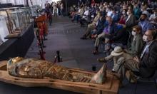 مصر تعلن عن اكتشاف مئة تابوت فرعوني في سقارة