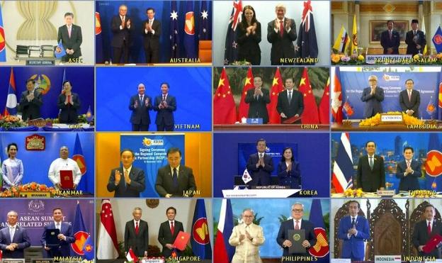 توقيع أكبر اتفاق بتجارة السوق الحرة في العالم يوسع نفوذ الصين