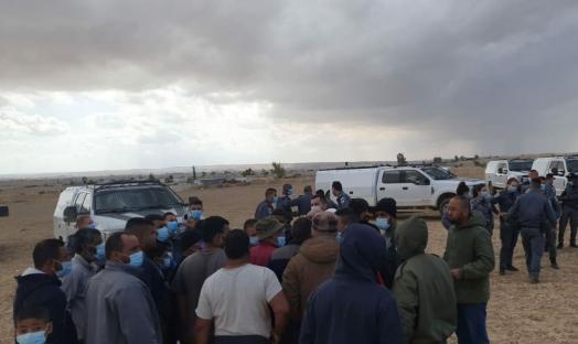 قرية الأطرش: استفزاز ومواجهة بين الأهالي والشرطة