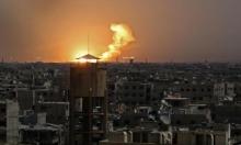 غانتس: الغارات في سورية ردا على زرع الألغام بالجولان