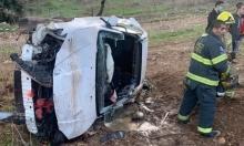 كفر مندا: إصابة خطيرة لشاب في حادث طرق