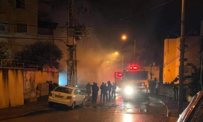 كابول: إضرام النار في محل تجاري وسيارة