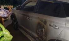 إحراق سيارة محاسب مجلس كفر مندا