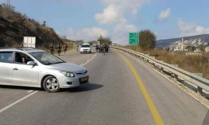 مستوطنون يعتدون على عشرات المركبات الفلسطينية قرب نابلس