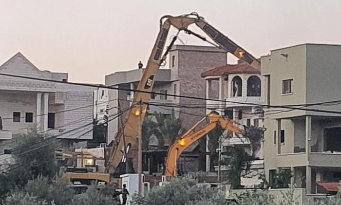 هدم منزل في كفر قاسم