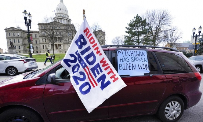 ولاية ميشيغان تصادق على فوز بايدن في الانتخابات الرئاسية