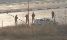 حاجز الزعيم: إصابة فلسطيني بادعاء تنفيذ عملية دهس