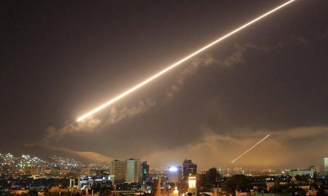 8 قتلى في غارات إسرائيلية على مواقع إيرانية بسورية