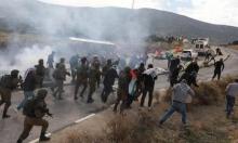إصابات إحداها خطيرة إثر تفريق جيش الاحتلال مسيرات بالضفة