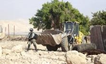 الاحتلال هدم وصادر 129 مبنى منذ بداية نوفمبر