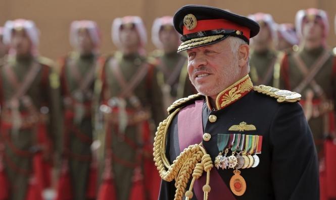 الملك عبد الله يدعو لاستئناف المفاوضات المباشرة بين السلطة الفلسطينية وإسرائيل