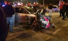 4 إصابات إحداها خطيرة في حادث طرق قرب عبلّين