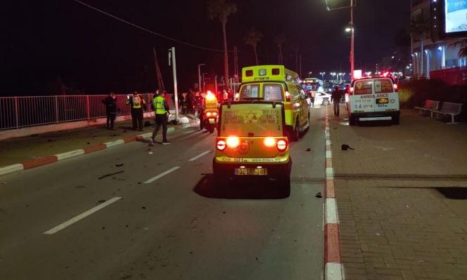 مصرع سائق دراجة نارية في حادث طرق قرب يافا