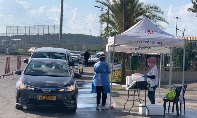 كورونا في المجتمع العربي: 221 إصابة بأم الفحم و15 بمشافي الناصرة