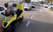 إصابة بالغة لعامل سقط من علو وسط البلاد