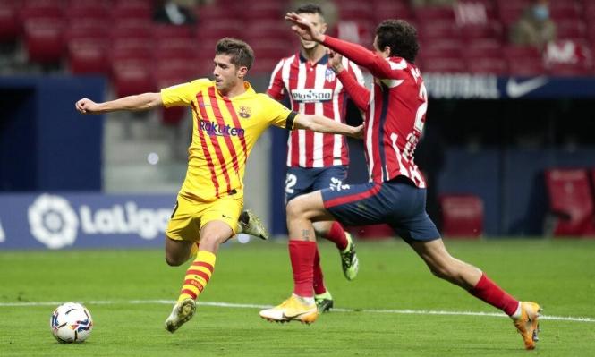 برشلونة يعلن إصابة أحد نجومه بكورونا