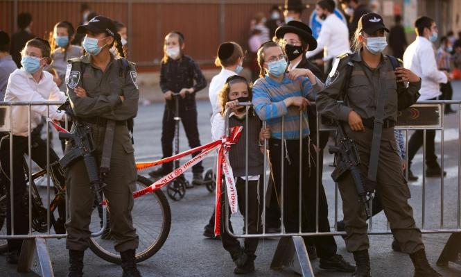 الصحة الإسرائيلية: 1182 إصابة جديدة بكورونا والحالات النشطة تتخطى الـ11 ألفا