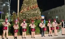 إضاءة شجرة الميلاد في عكا