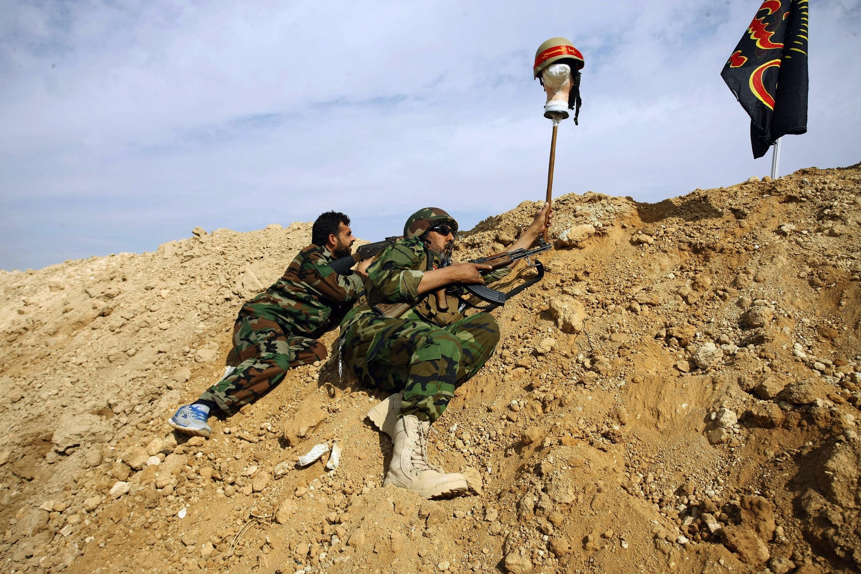 قوّات إيرانية في سورية (أ ب)