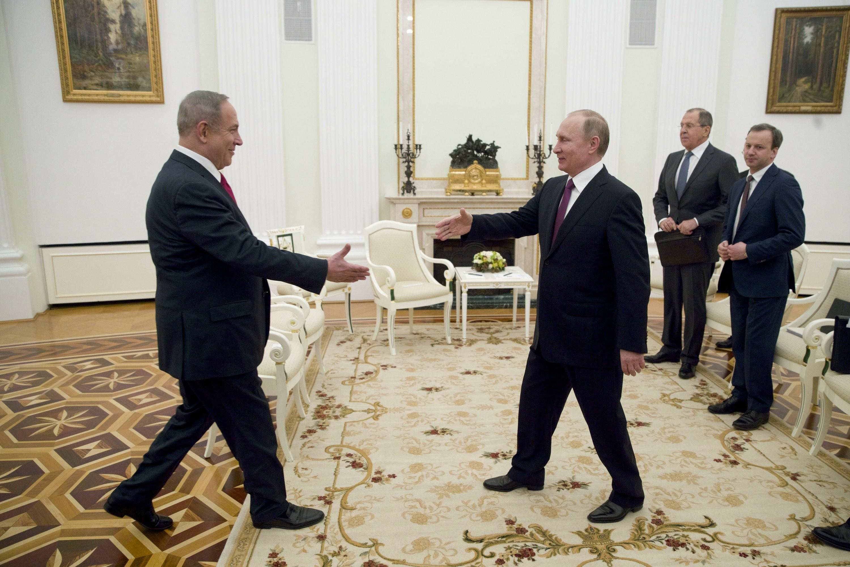 روسيا أضحت عاملا مؤثرا في المنطقة (أ ب)