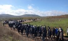 """إضراب في الجولان المحتل ضد """"عنفات الرياح"""" الإسرائيلية"""