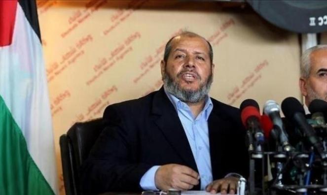 """""""حماس"""": بحثنا مع الوفد المصري المصالحة وحصار غزة"""