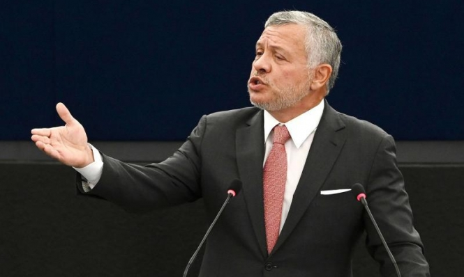 الملك عبد الله: حرمان الفلسطينيين من حقوقهم سبب الصراع في المنطقة