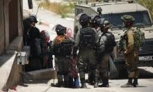 إصابات إثر صدم آلية عسكرية إسرائيلية لمركبة فلسطينية في كفر مالك