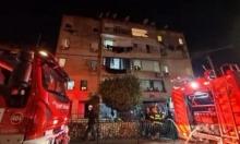 إصابة 23 شخصا في حريقين باللد وبئر السبع
