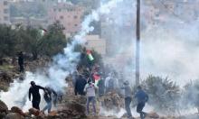 إصابات بالاختناق خلال مواجهات مع الاحتلال قرب رام الله