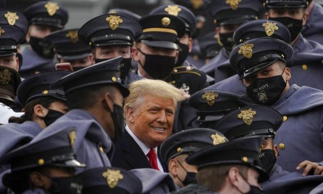 مظاهرة لأنصار ترامب بواشنطن قبيل مصادقة المجمع الانتخابي لبايدن