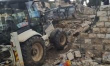 """بلدية الاحتلال تجدد شق مسار """"الحديقة التوراتية"""" بمقبرة الشهداء"""