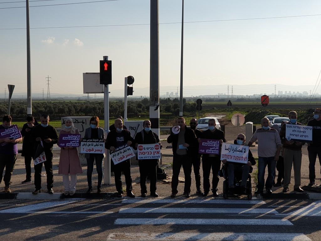 تصديا لمخطط شارع 6: تظاهرة احتجاجية على مفرق المكر