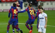 برشلونة يتعادل أمام فالنسيا