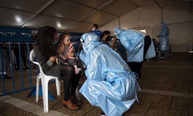 الصحة الإسرائيلية: نحو 4 آلاف إصابة كورونا جديدة