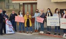 مجد الكروم: وقفة احتجاجية إثر الاعتداء على قسم الهندسة