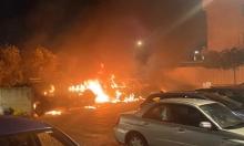 اندلاع حريقيْن في اللد أحدهما طال عدّة سيارات