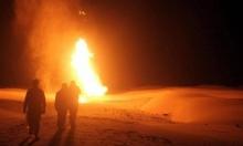 انفجار في أنبوب غاز بسيناء