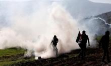 إصابات جراء قمع الاحتلال مسيرتَين في الضفة