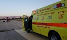 إصابتان إحداهما خطيرة في حادث طرق قرب كفر قاسم