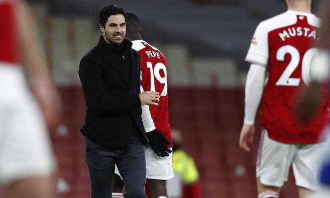مدرب آرسنال: لا يوجد أفضل من الفوز في الديربي