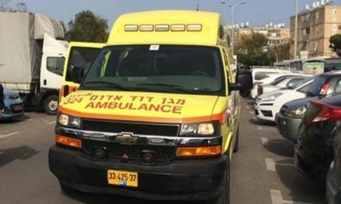 حوادث العمل: شابان بحالة خطيرة قرب القدس والرملة