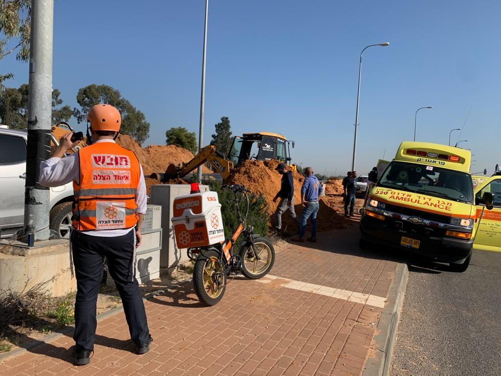 3 إصابات في حادثي عمل قرب الرملة وجنوبي البلاد