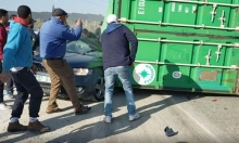 طولكرم:مصرع امرأة وإصابة آخرين إثر حادث سير