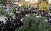 تشييع شعبي وفني مهيب لحاتم علي في دمشق
