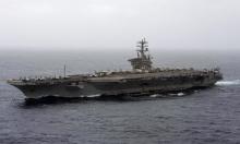 """البنتاغون: حاملة الطائرات """"نيميتز"""" ستبقى بالخليج لمواجهة أي تهديد إيراني"""