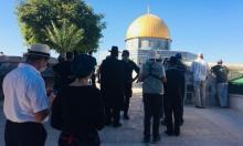الاحتلال يقتحم الجامع القبلي ومستوطنون يؤدون طقوسا تلمودية بالأقصى