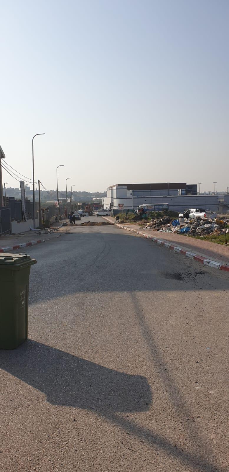 هدم منشآت وجدران في باقة الغربية