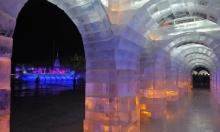 انطلاق مهرجان النحت على الجليد السنوي في الصين